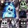 DJ Marshmello Bedding Set 3PCS Duvet Cover Pillowcases Comforter Cover US Size