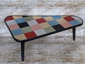 Vintage Style Side Lamp Table Unique Design