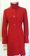 Angel Aileron womens coat jacket wool cashmere red EU 44 / US 6