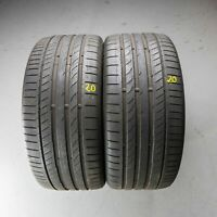 2x Continental ContiSportContact 5P AO 255/35 R19 96Y DOT 3916 5 mm Sommerreifen