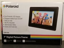 Polaroid Digital Picture Frame, 7 inch Display, PDF-700