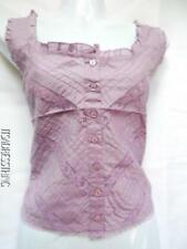Cotton Casual Tops & Shirts for Women with Buttons