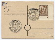 Berlin 1953 Nr: 106 auf sauberen Beleg mit doppelter Formnummer