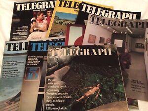 Daily & Sunday Telegraph Magazines Vintage 1976 Job Lot 9 Elvis Presley Nazi SS