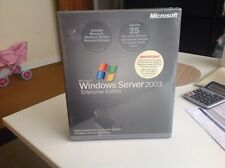 Microsoft Windows Server 2003 x86 Enterprise Edition 25 CAL P72-00001