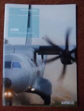 BROCHURE PUBLICITAIRE AIRBUS MILITARY AIRCRAFT CASA C295