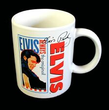 NEW Coffee Mug ELVIS ALWAYS Artist JOE PETRUCCIO Signature Elvis Presle Product