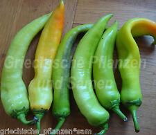 Griechische Peperoni * Paprika * Chili * süß * 10 Samen
