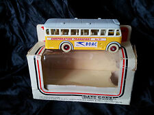 Days gone Lledo DG 17 Autobus anglais Fly BOAC car autocar bus