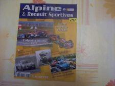 MAGAZINE ALPINE N°28 ALPINE A364 F3 1972