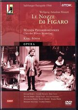 2.DVD MOZART LE NOZZE DI FIGARO Walter Berry Ingvar Wixell Reri Crist KARL BÖHM