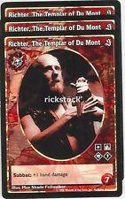 Richter, The Templar of Du Mont x3 Brujah antitribu SE VTES Jyhad