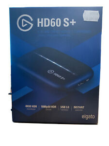 Elgato  HD60 S+ Video Capture -Black