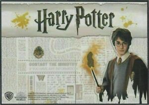 HARRY POTTER STAMP SPAIN 2018 HARRY POTTER THE BEST STAMP