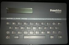 Vintage Franklin Computer Spelling Ace Sa-98 Handheld Dictionary Thesaurus