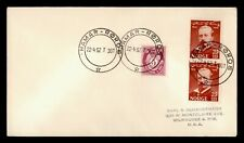 Dr Who 1952 Norway Hamar Roros To Usa f78711