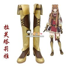 The Rising Of The Shield Hero Raphtalia Cosplay Shoes High Boots