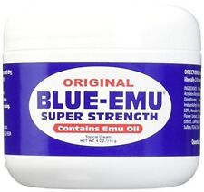 BLUE-EMU Super Strength Emu Oil - 4 Oz - New And Fresh Guaranteed
