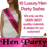 HEN PARTY DO SASH SASHES FOR NIGHT OUT GIRLS ACCESSORIES bachelorette fun! P&P!