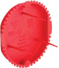 KAISER Signaldeckel rot 1181-60 Putzabdeckung für Schalterdosen 50 Stück