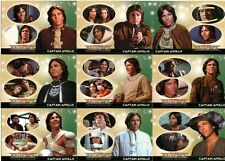 Battlestar Galactica Colonial Warriors Full 72 Card Base Set from Rittenhouse