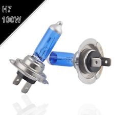 2x H7 12V 100W 6000K Xenon White Low Beams Super Bright Halogen Headlight  Bulbs