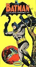 Aurora Vintage Batman Adam West Model Kit Sticker or Magnet