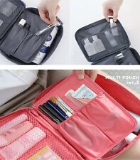 Travel Waterproof Men Women Handbag Makeup Case Cosmetics Organizer Pouch Bag