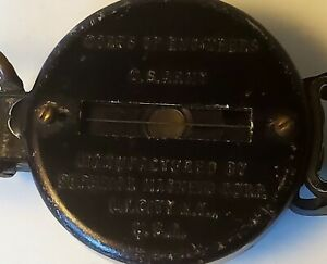 Vintage Corps Of Engineers U.S. Army Compass Superior Magneto Corp 7-45