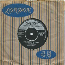Duane Eddy:Because they're young.Rebel walk:UK London:1960