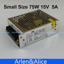 75W 15V 5A Small Volume Single Output Switching power supply for LED Strip light