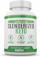 SLENDERIZED KETO ADVANCED BLEND 60 CAPSULES 1 MONTH SUPPLY **FAST SHIPPING**