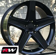 "20"" inch RW Wheels for Jeep Grand Cherokee 20x9"" Gloss Black SRT8 2006 Rims 5x5"""