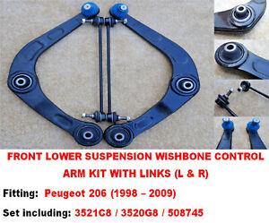 PEUGEOT 206 SUSPENSION WISHBONE ARMS & LINKS