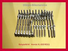 HONDA TRANSALP xl650/xl600-v2a Set di viti viti in acciaio inox motore