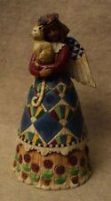 "2002 Jim Shore Heartwood Creek ""Angel with Kitty Cat"" Figurine 8 1/4"" high"