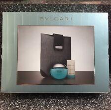 AQVA POUR HOMME MARINE 100ml EDT Spray 3 Pieces Set Men's Perfume By BVLGARI