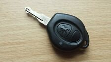 GENUINE PEUGEOT 206 ETC 2 BUTTON REMOTE KEY FOB - TESTED & FULLY WORKING