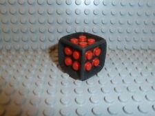 LEGO® Spiele Würfel Schwarz Rot Dice Spiele Sammlung Games K70