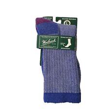 NWT Woolrich Ten Mile Day Hiker Blue Socks Mens 9-12 Womens 10.5-12 Merino Wool