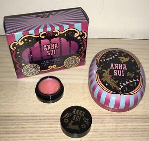 BNIB! Anna Sui Lip Balm E in shade 300 Happy Pink - Easter Edition
