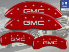 "2015-2020 "" GMC "" Yukon / XL 1500 Front + Rear Red MGP Brake Disc Caliper Covers"