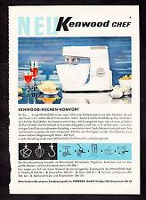 3w2150/ Alte Reklame von 1960 - KENNWOOD - Küchen-Komfort - Stuttgart