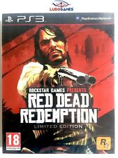 Red Dead Redemption Limitada PS3 Playstation Nuevo Precintado Retro Sealed New