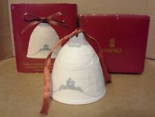 Lladro 2002 Christmas Bell Ornament.Original Packaging.Excellent Cond