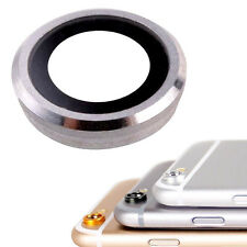 Glass Camera Lens Cover Ring Silver For iPhone 6 & 6S 4.7""