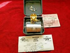 RUSSIAN ARMY STOVE R-1 ENGLISH INSTRUCTIONS CAMPING PRIMUS CLONE OPTIMUS
