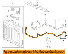 BMW OEM 11-17 535i GT xDrive 3.0L-L6 Oil Cooler-Outlet Pipe 17227636880