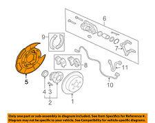MITSUBISHI OEM Endeavor Rear Brake-Backing Plate Splash Dust Shield MN116418