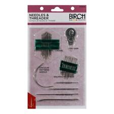 BIRCH - 26 Assorted Sewing Needles and Threader Pack